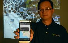 The Smartrek app, developed by the UA's Yi-Chang Chiu, is set to launch this month in the Los Angeles and Phoenix metro areas.