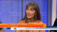 Marla Smith-Nilson on the Today Show in September 2013.