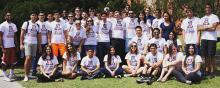Group portrait of the UA ASCE chapter
