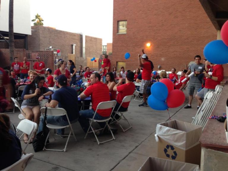 Homecoming BBQ 2014