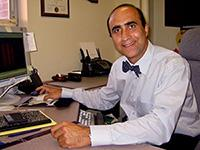 Mo Ehsani in office
